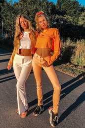 shoes,romee strijd,sneakers,pants,cropped,crop tops,top,summer,summer outfits