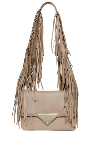 bag shoulder bag beige