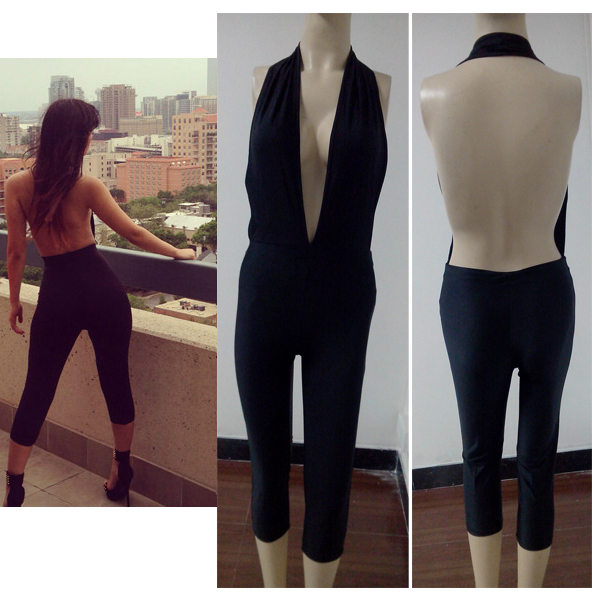 Black backless romper · fe dress · online store powered by storenvy