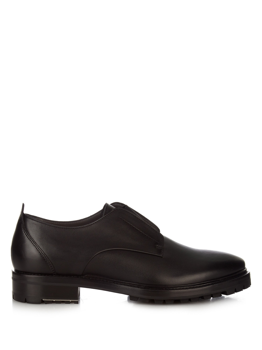 Lanvin Elasticated Front Leather Derby Shoes Wheretoget