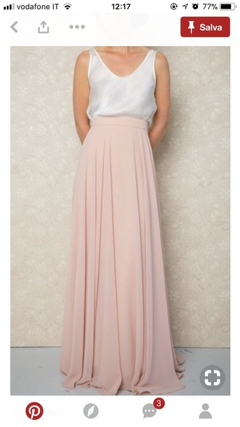 skirt maxi skirt long skirt