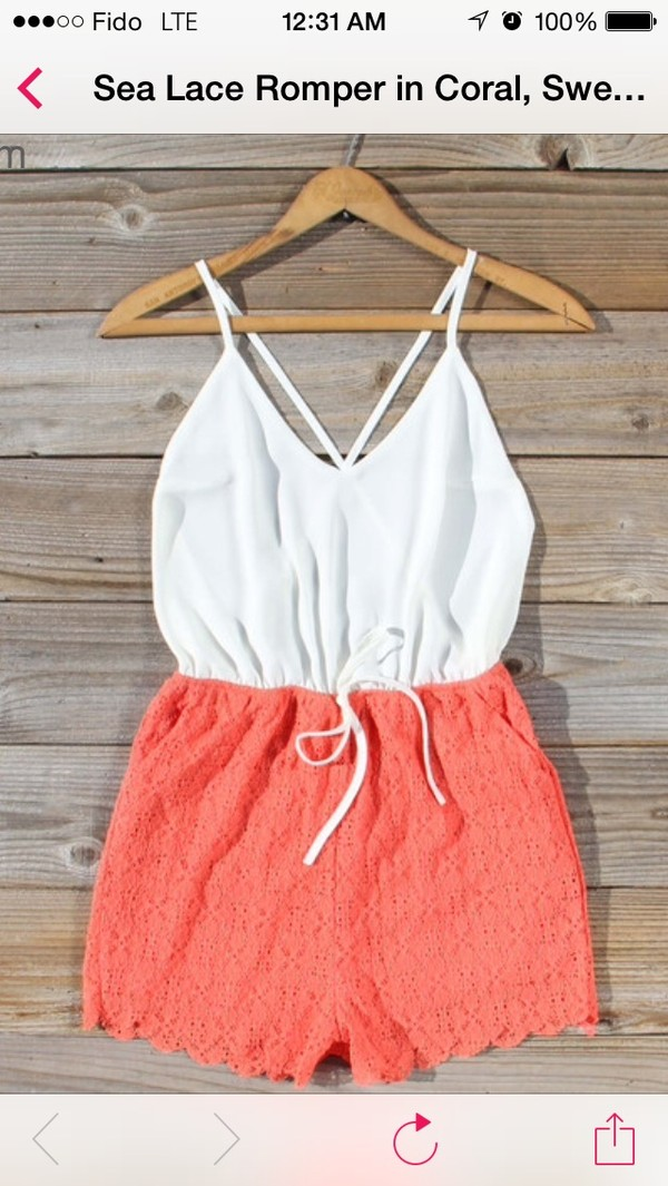 Shorts: crop tops, neon, jumpsuit, white dress, pink ...