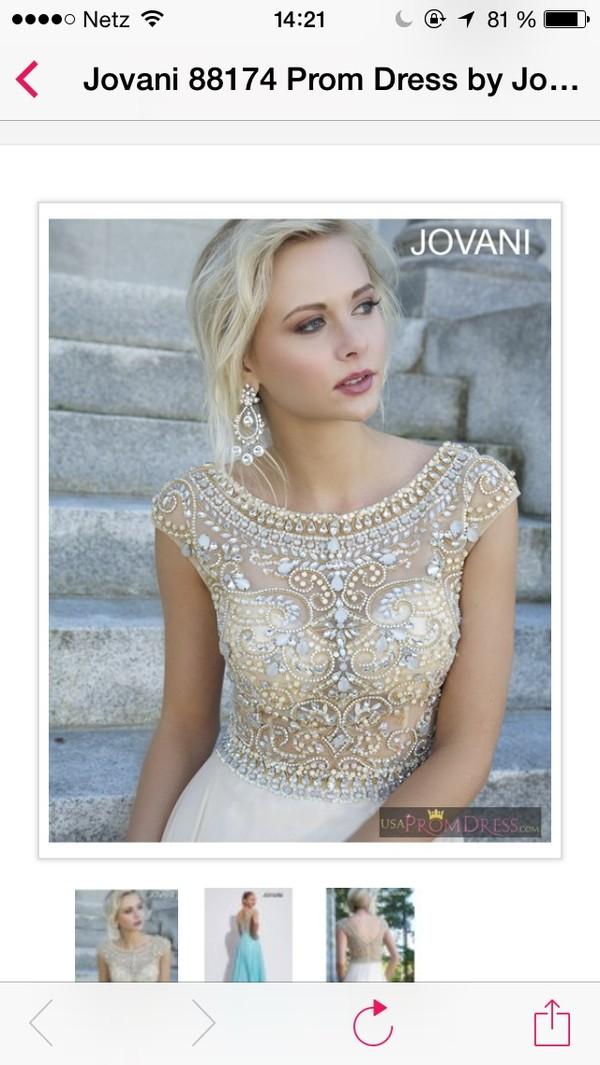 dress jovani dress glitter dress