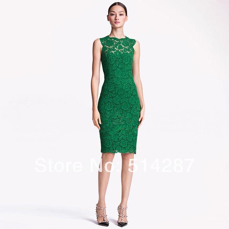 L'arrivée de nouveaux 2014 vente chaude des femmes dentelle élégante robe de mode arc retour robe robe de