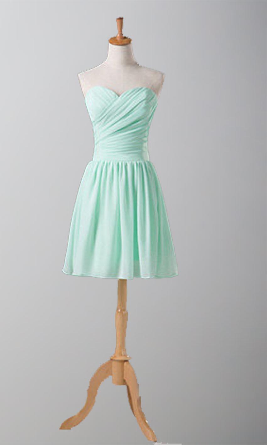 Short Cinch Waist Affordable Bridesmaid Dress KSP267 [KSP267 ...