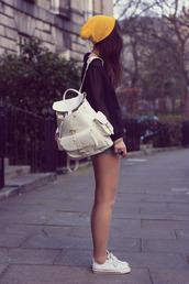 bag,white,summer,summer bag,vintage,backpack,hat,blouse,lether bag