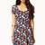 Fit & Flare Floral Dress | FOREVER21 - 2062871174