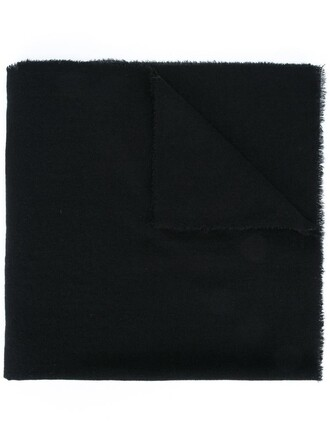women classic scarf black