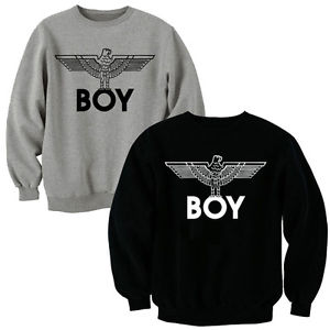 BOY LONDON SWEATSHIRT EAGLE SWEATER JUMPER T-SHIRT TOP HOODIE HOODY | eBay
