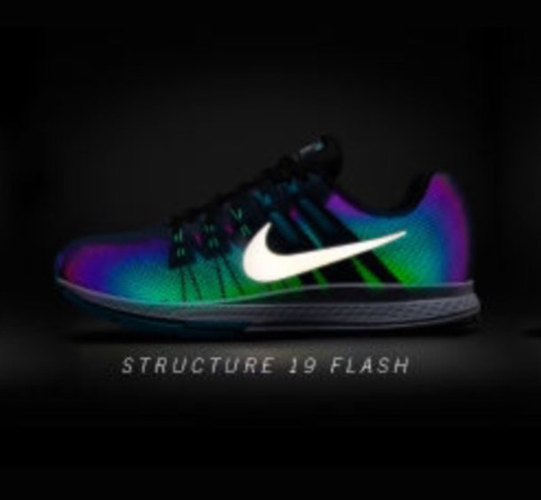 in stock a8077 946cb shoes reflective rainbow nike women s shoes nike womens shoes