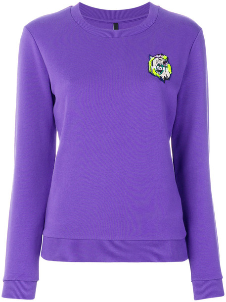 Versus jumper women cotton purple pink sweater