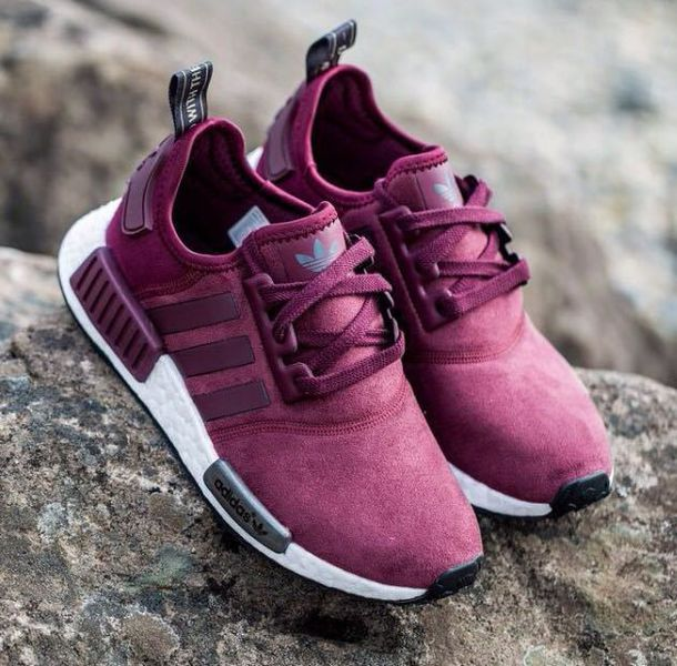 shoes adidas vine red suede sneakers adidas nmd shoes