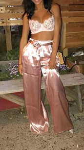top,bandeau,corset top,light pink,crop,bandeau top