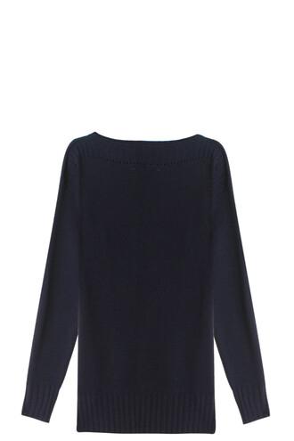 jumper navy sweater