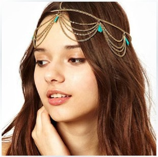 (min.order is $10)Gold Tone Crown T Stone Chain Hairband Head Band Headband Hair Piece Party F 042-in Hair Jewelry from Jewelry on Aliexpress.com | Alibaba Group