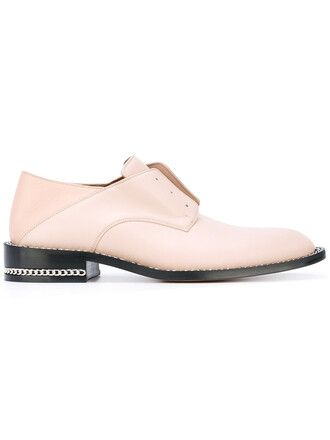 women leather purple pink shoes