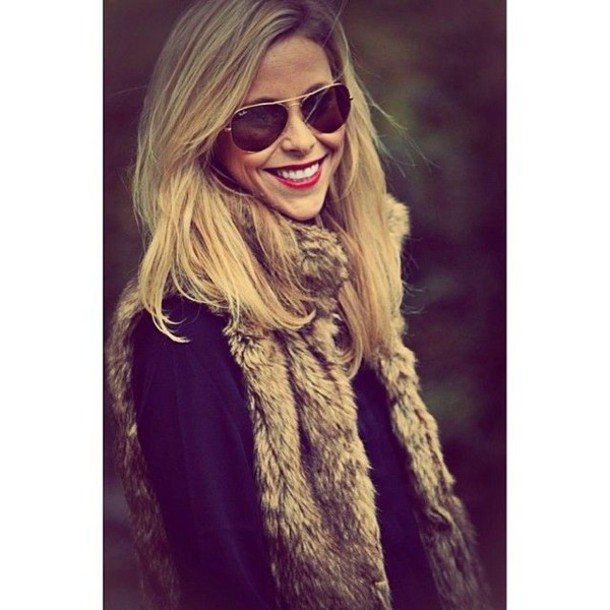 jacket fur faux fur faux fur vest ootd look of the day fashion diaries style diaries instastyle blogger instagram