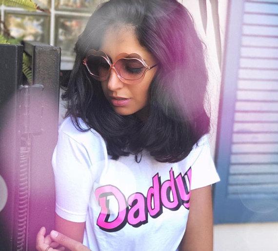 DDLG Clothing, Yes Daddy Shirt, DDLG Tshirt, Daddy T-shirt, DDLG Clothes, Femme Top, Daddy's Girl T Shirt