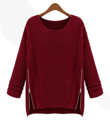 Chiara side zipper sweater · nouveau craze · online store powered by storenvy