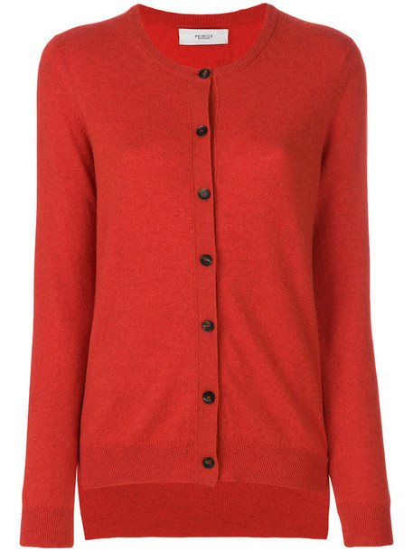 PRINGLE OF SCOTLAND cardigan cardigan women classic fit red sweater