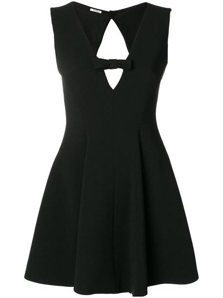 Miu Miu dress mini dress mini cut-out women black