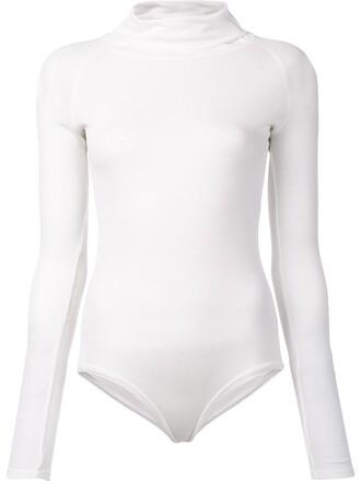 bodysuit women white underwear