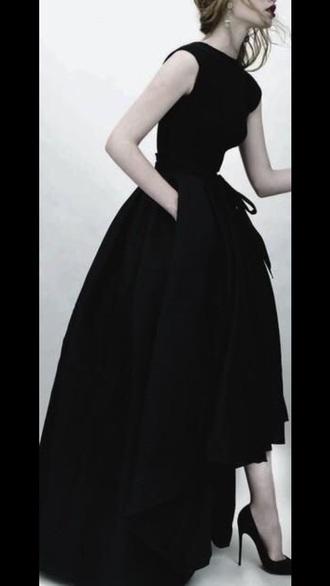 dress black dress high low dress midi dress prom dress long prom dress