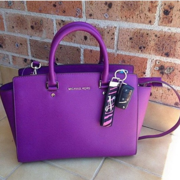 bag purple purse purple purse michael kors 1993698e1c063