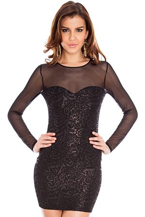 Sexy Sequin Party Mini Dress