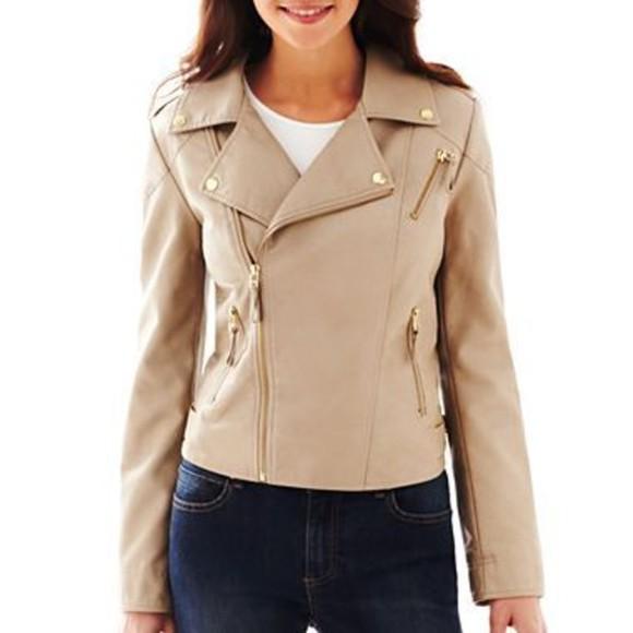 jacket pink leather jacket pleather jacket pink jacket pretty jacket cute biker jacket