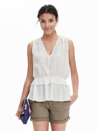 top white top peplum peplum top white peplum top white