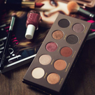 autumn make-up palette