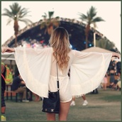 dress,white,white dress,tank top,romper,t-shirt,coachella,festival