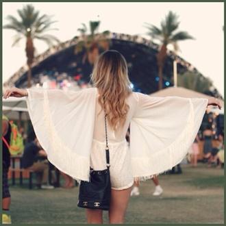 dress white white dress tank top romper t-shirt coachella festival