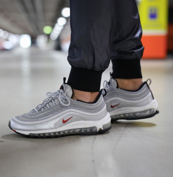 best loved 4a948 9b649 shoes Air max 97 nike nike shoes grey sneakers.