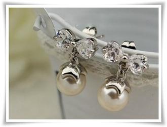 jewels pearl women earrings