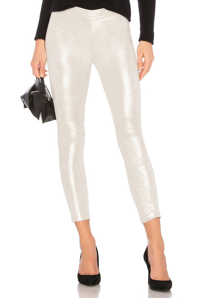 LaMarque metallic silver pants