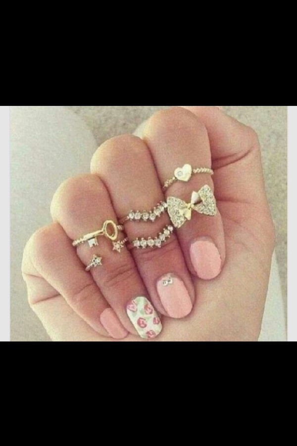 nail polish jewels