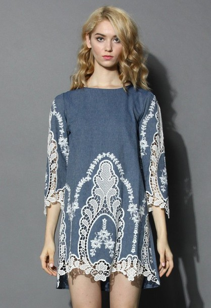 Sweater With Lace Sleeves