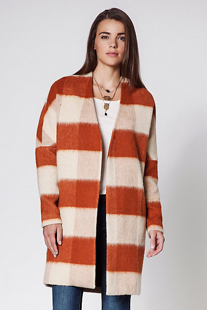 Maison Scotch Drapery Coat - anthropologie.eu