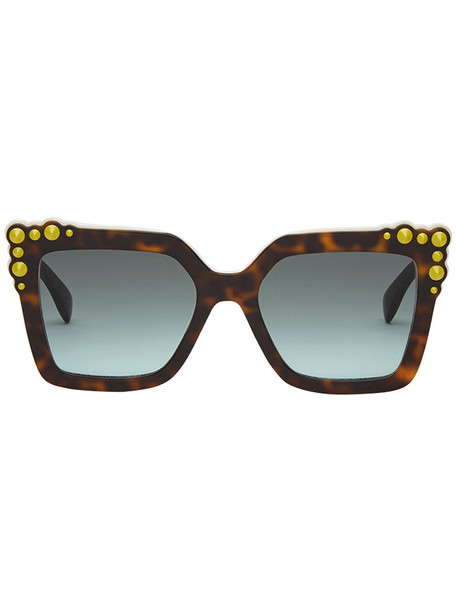Fendi Eyewear women plastic sunglasses