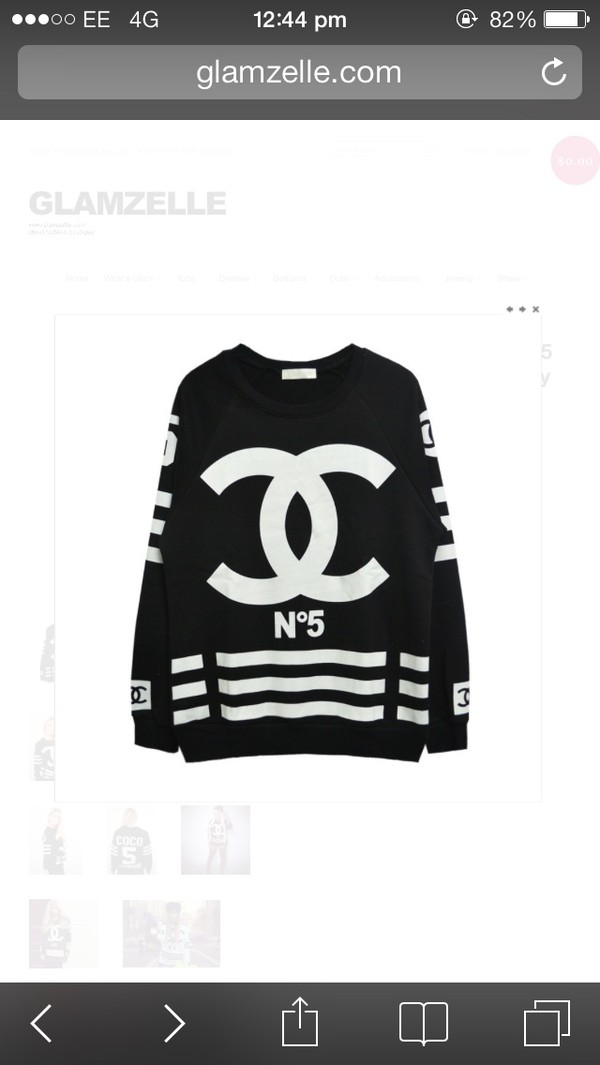 sweater coco chanel sweater