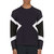 neil barrett navy geometric neoprene sweater