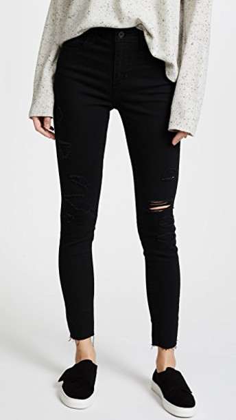 Levi's jeans skinny jeans high black