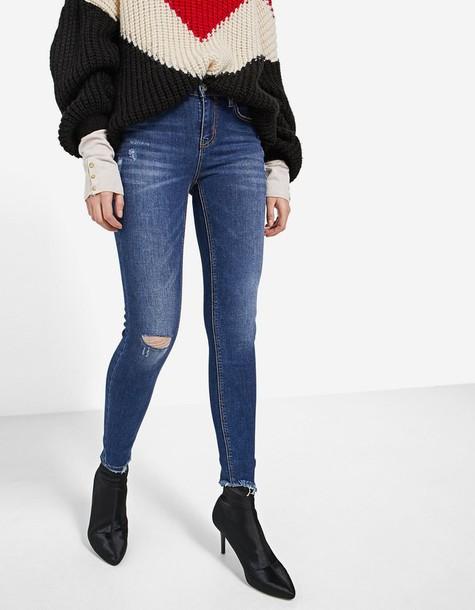 Stradivarius jeans skinny jeans denim basic