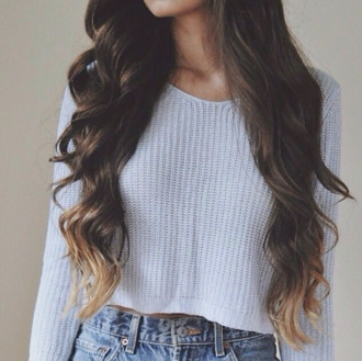 sweater jumper cropped crop winter outfits spring knitwear tumblr
