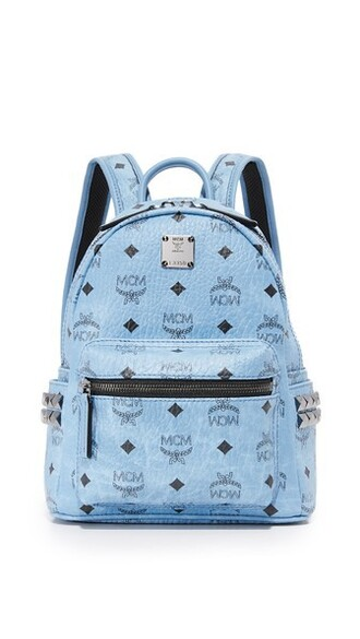 denim mini backpack bag