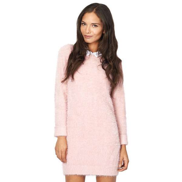 dress sweater makeup table vanity row pink cotton candy fluffy funny