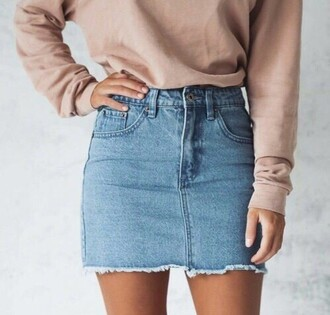 skirt denim skirt