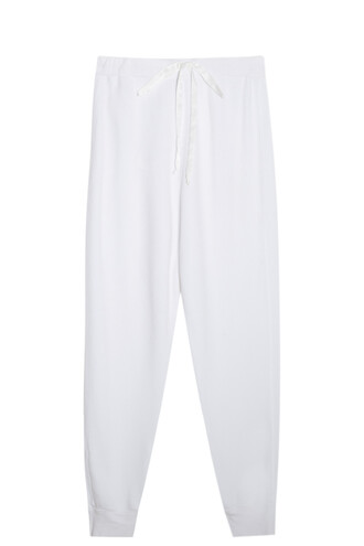 sweatpants classic white pants